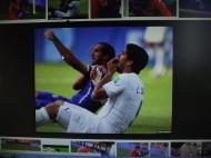 Suarez tijdens het WK.